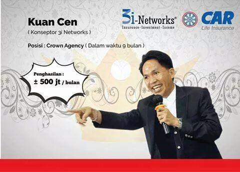 5 Langkah menuju Crown 3i Networks oleh Bapak Kuan Cen